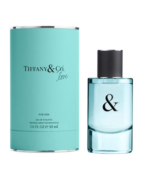 Tiffany & Love Eau de Toilette for Him, 1.6 oz./ 50 mL