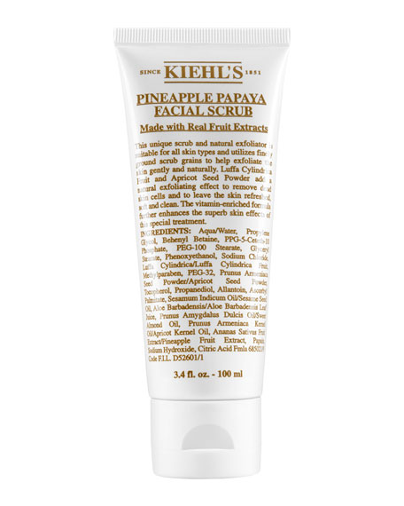 Kiehl's Since 1851 Pineapple Papaya Facial Scrub, 3.4