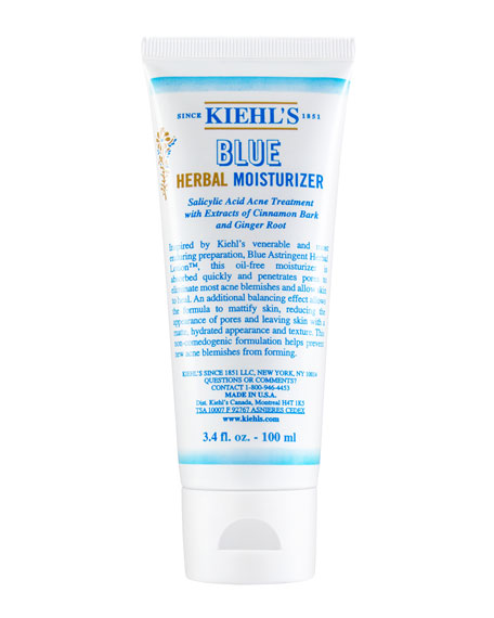 Kiehl's Since 1851 Blue Herbal Moisturizer, 3.4 fl.