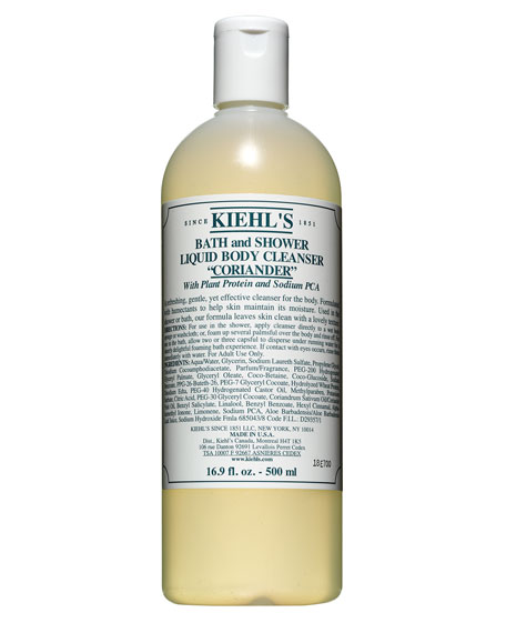 Coriander Bath & Shower Liquid Body Cleanser, 16.9 oz.