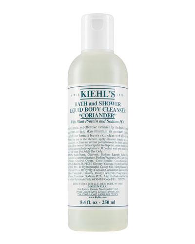 Coriander Bath & Shower Liquid Body Cleanser  8.4 oz.