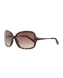 MARC by Marc Jacobs Metal-Arm Oversized Sunglasses