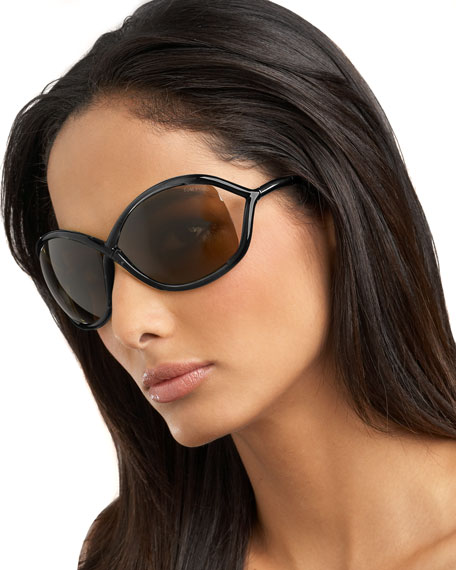 Whitney Sunglasses, Black