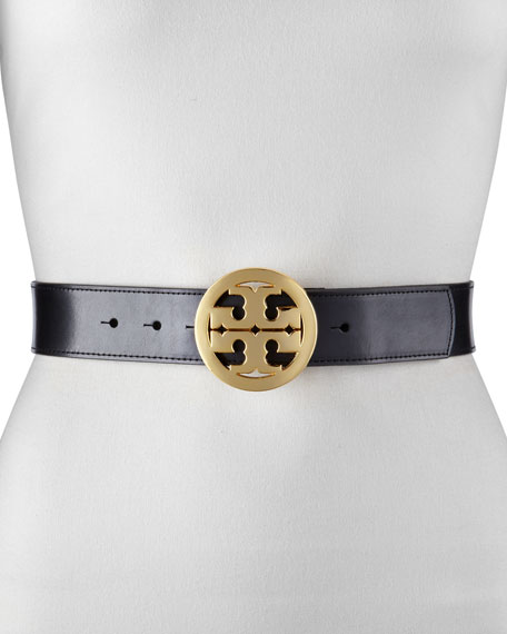 Classic Tory Leather Belt