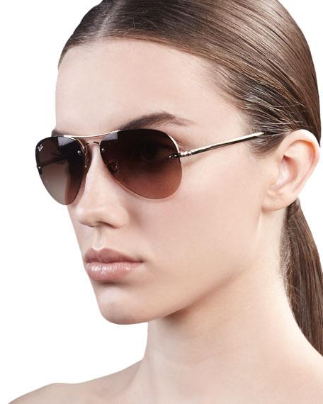Ray-Ban Original Aviator Sunglasses, Golden 5466c193cf84