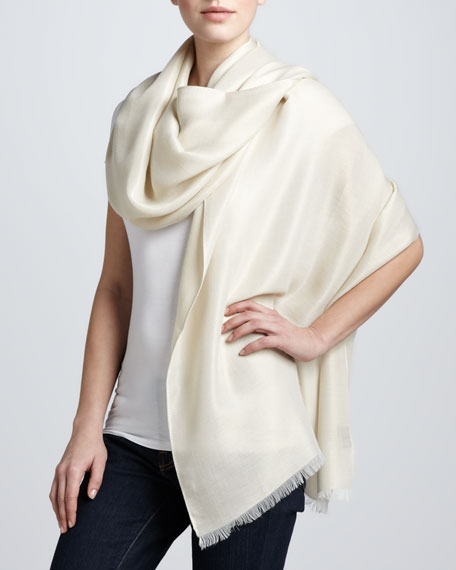 Dream Shimmer Stole, Ivy Gold