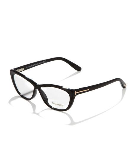 4928e4f49d4 Tom Ford Crossover Cat-Eye Fashion Glasses