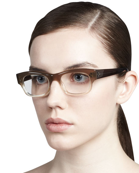 Bradford Two-Tone Glasses, Taupe