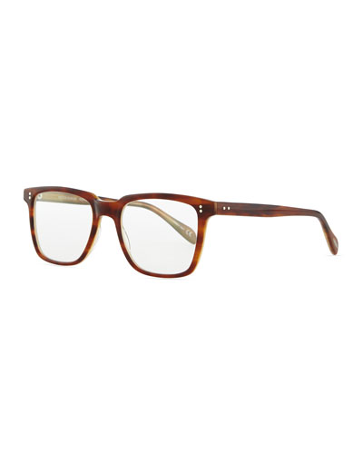 NDG Square Fashion Glasses, Brown