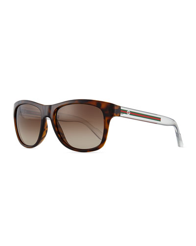 Youngster GG-Temple Sunglasses, Havana