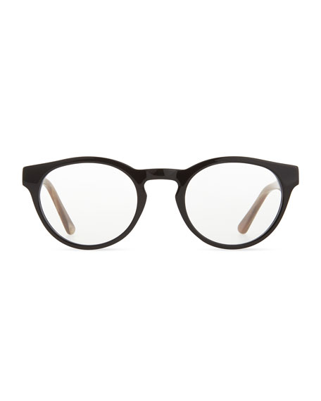 Stanley Fashion Glasses, Black/Brown