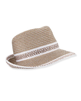 Big Deal Hat, Frost/White