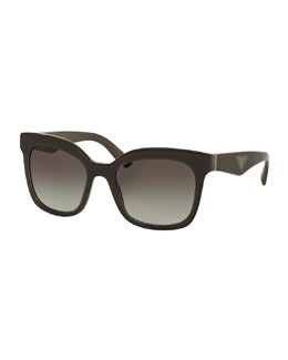 Heritage Square Sunglasses, Brown