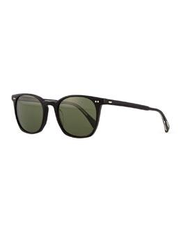 L.A. Coen Universal-Fit Sunglasses, Black