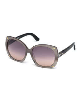 Gabriella Universal-Fit Butterfly Sunglasses