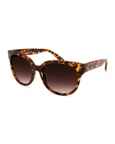 ValleyGirl Oversized Acetate Sunglasses