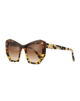 Brazilia Angular Sunglasses