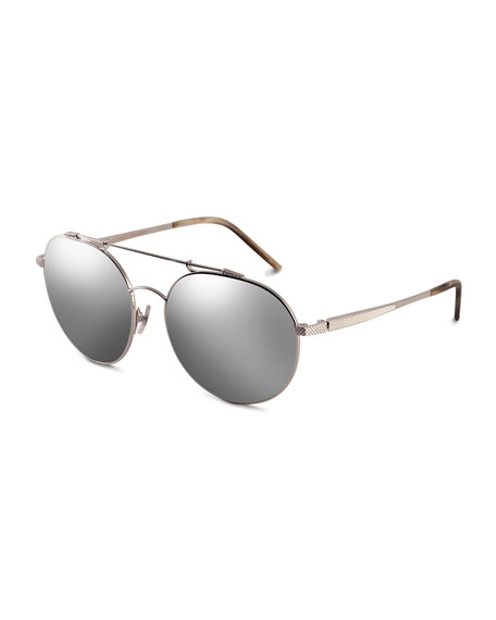 Combustion 5 Mirrored Sunglasses, Platinum-Tone (Made to Order)