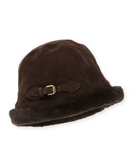 Vail Suede Bucket Hat