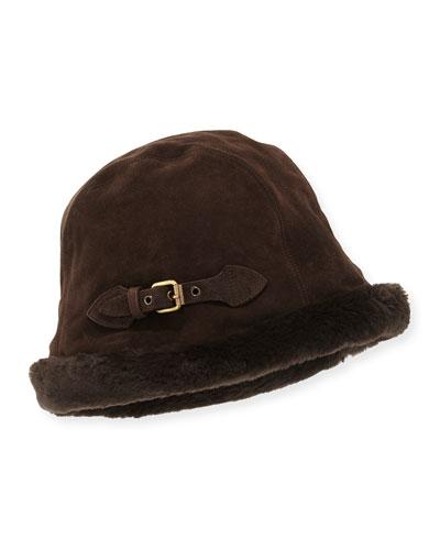 Vail Suede Bucket Hat