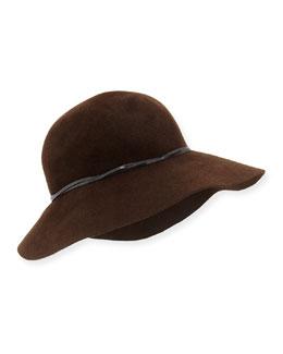 Moxi Rabbit Felt Hat
