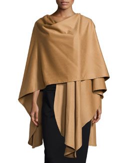 Cashmere U-Shaped Cape