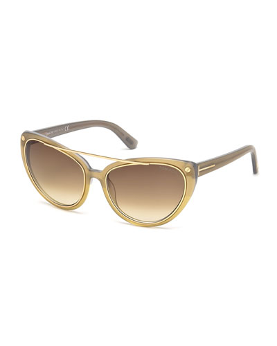 Edita Cat-Eye Sunglasses