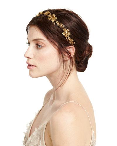 Nyssa Golden Circlet Headband