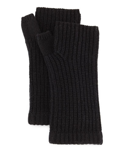 Alexis Cashmere Fingerless Gloves