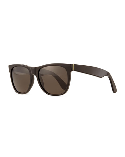 Basic Rectangle Sunglasses, Black