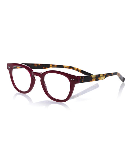 Waylaid Colorblock Acetate Readers