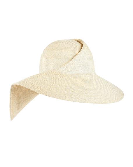 Catherine Folded Straw Sun Hat