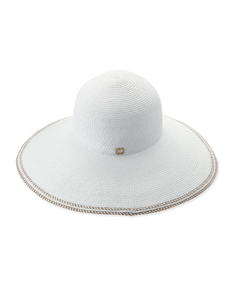 Bella Woven Floppy Sun Hat
