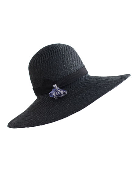 Luna Wide-Brim Straw Hat