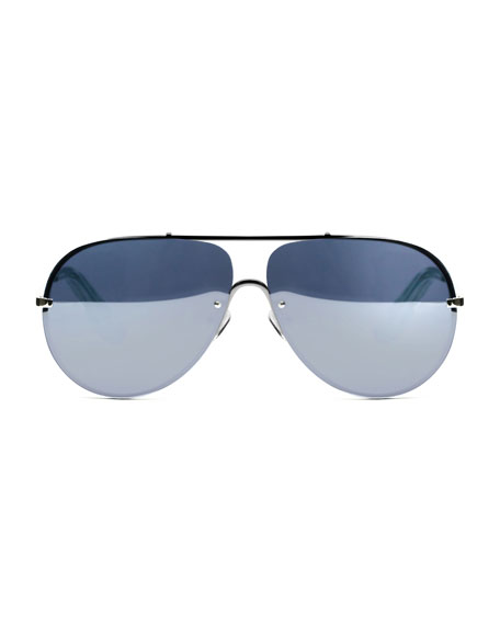 Elizabeth and James Ryder Mirrored Aviator Sunglasses