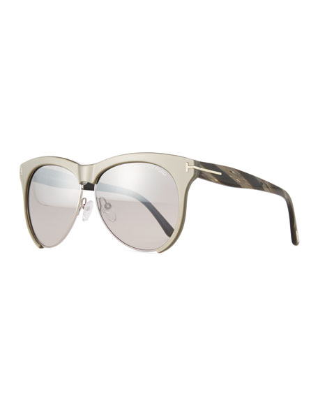 Dual-Rimmed Sunglasses