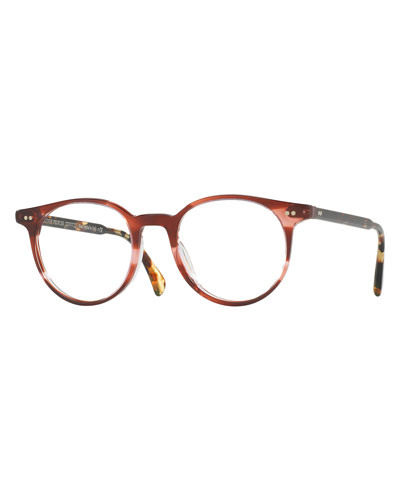 big glasses frames trend ze3s  Delray Round Optical Frames, Red