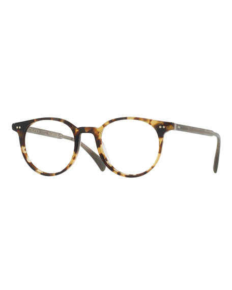 Delray Round Optical Frames, Tortoise