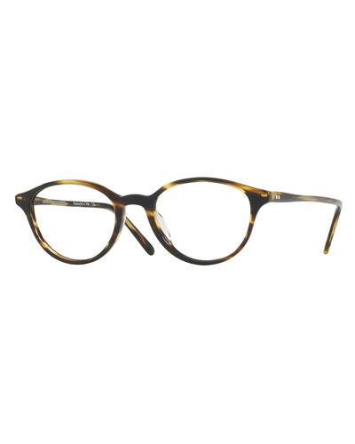 Mareen Round Optical Frames, Light Brown