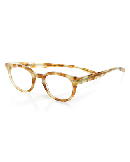 Waylaid Square Readers, Blonde Tortoise