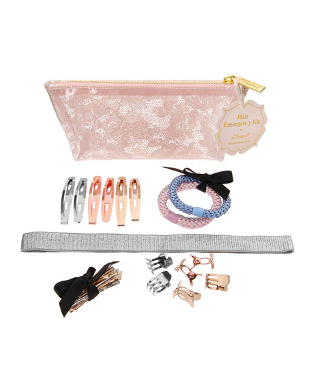 Hair Emergency Styling Kit, Rose Quartz Lace