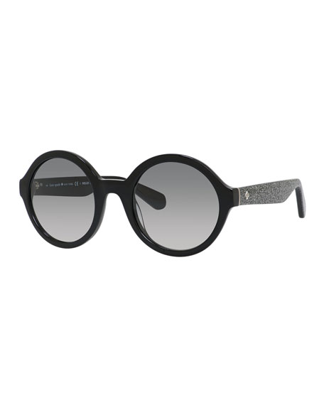 khriss round sunglasses