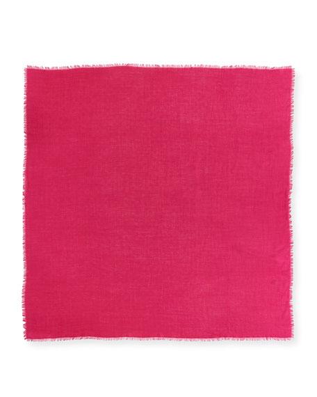 Ghili Fringed Wool/Silk Scarf