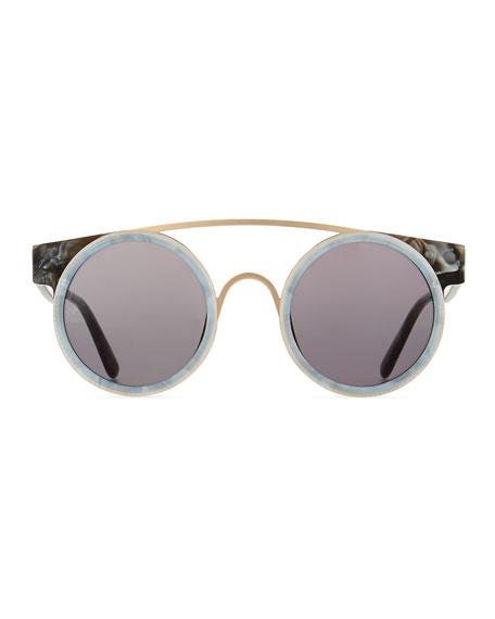 Sodapop I Oversized Round Sunglasses