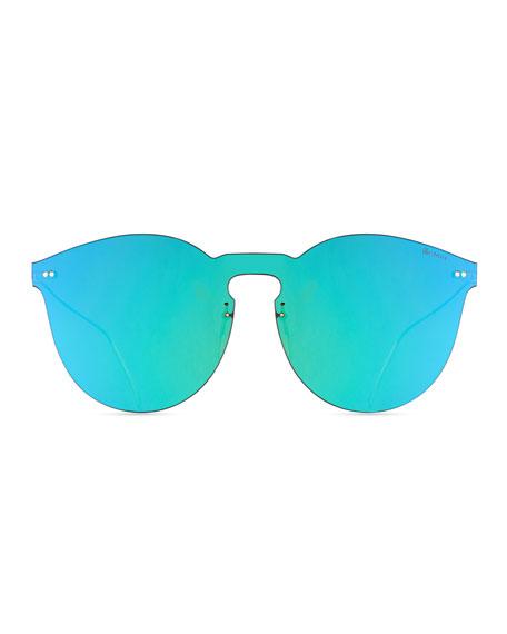 Leonard II Mask Sunglasses, Green