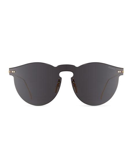 Leonard Mask Sunglasses, Gray