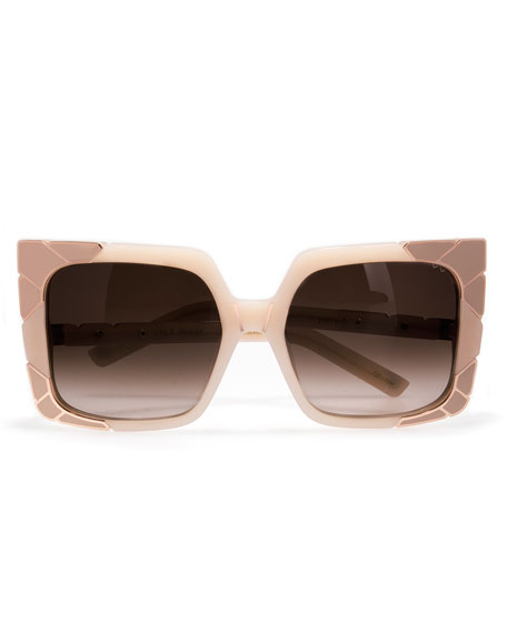 Sun and Shade Square Sunglasses