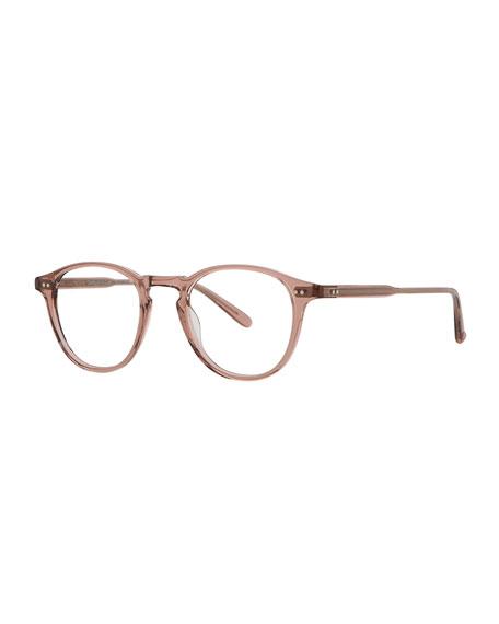 Hampton Square Acetate Sunglasses, Red/Brown