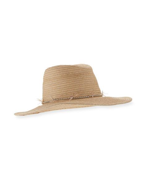 Jeanne Braided Straw Sun Hat