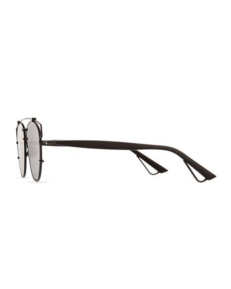 Technologic Cutout Aviator Sunglasses